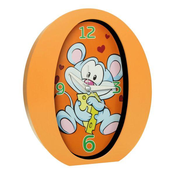 Time Life Stolní budík pro děti, oranžová
