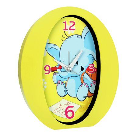 TimeLife Stolný budík pre deti, žltá