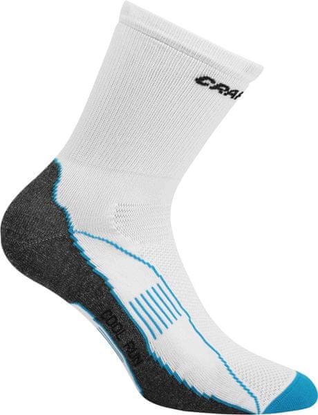 Craft Ponožky Cool Run Bílá 46-48