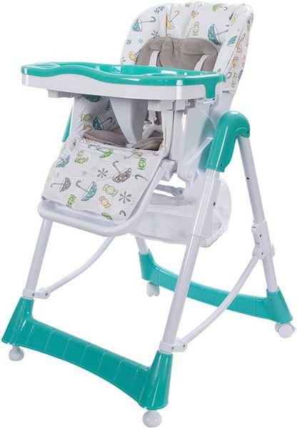 Sun Baby Jídelní židlička Laura, modrá