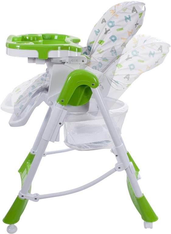 Sun Baby Jídelní židlička Laura, zelená