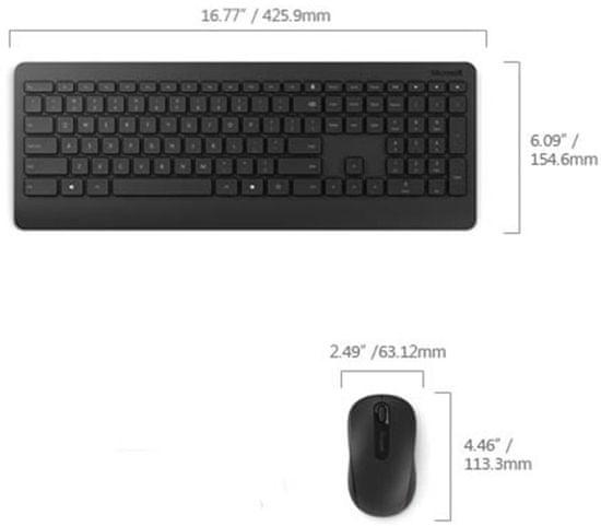 Microsoft Wireless Desktop 900 s AES USB, CZ & SK (PT3-00019)