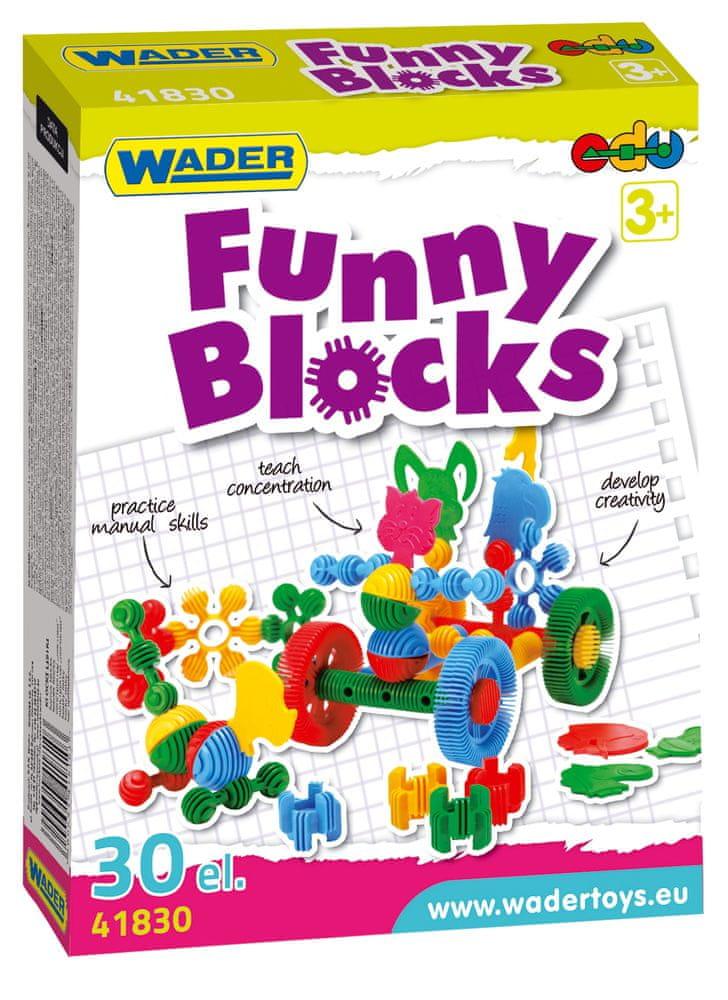 Wader Kostky stavebnice Funny Block 36ks
