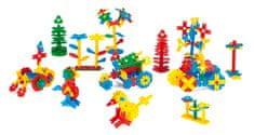 Wader Zestaw 200 kreatywnych klocków w kształcie listków