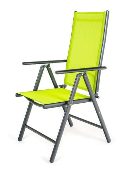 Happy Green Židle polohovací RAMADA zelená