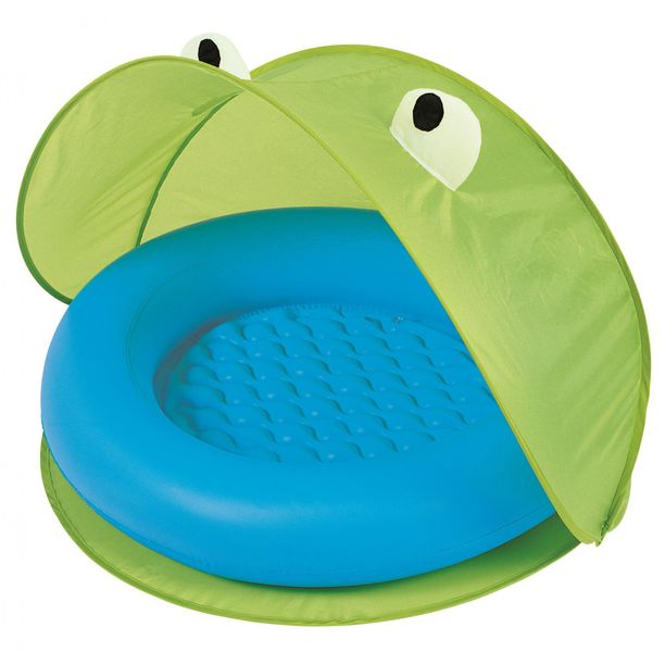 Bestway 51110 Nafukovací bazének se stříškou zelená