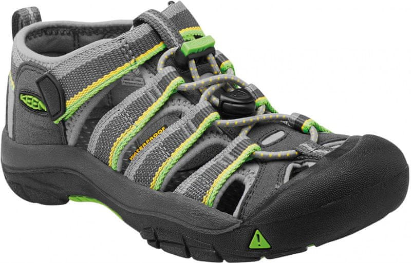 KEEN Newport H2 Jr Racer Gray US 2 (34 EU)