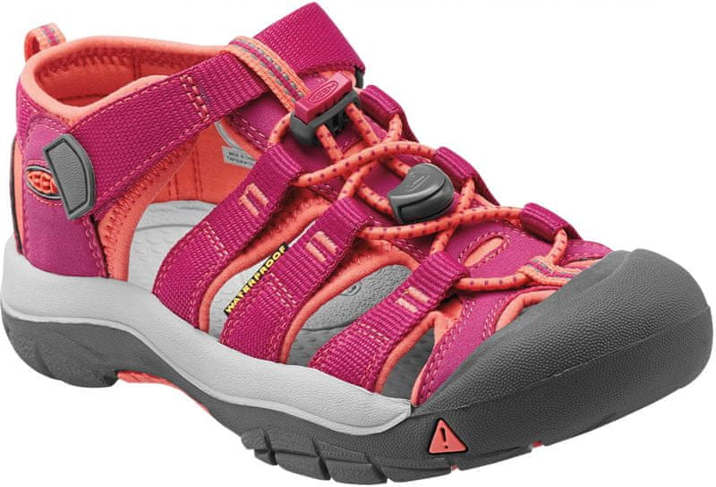 KEEN Newport H2 Jr Very Berry/Fusion Coral US 3 (35 EU)