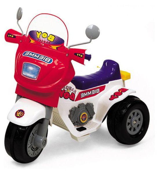 Biemme Motorka Ranger červená