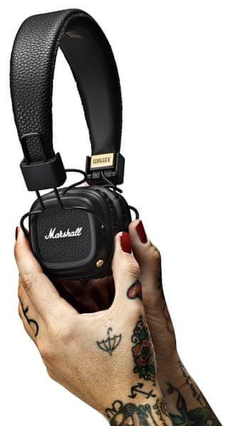 MARSHALL Major II Bluetooth, černá/zlatá