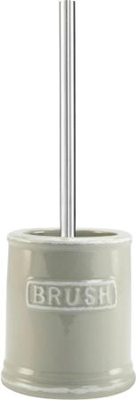 TimeLife WC štětka s držákem Brush bílá