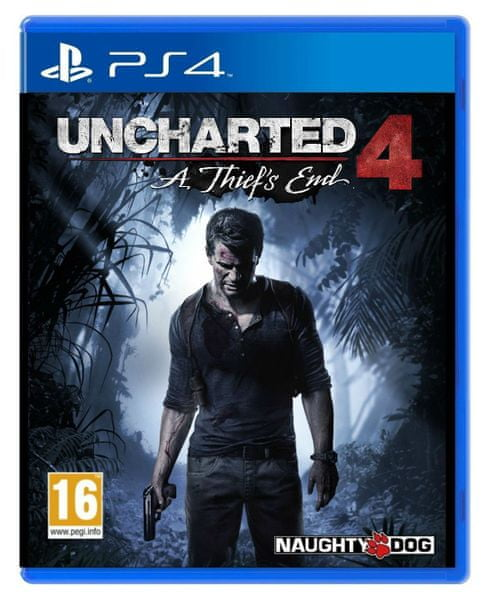 Sony Uncharted 4: A Thief's End Standart Plus edition / PS4