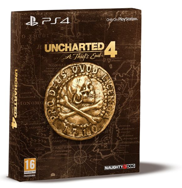 Sony Uncharted 4: A Thief's End Special edition / PS4