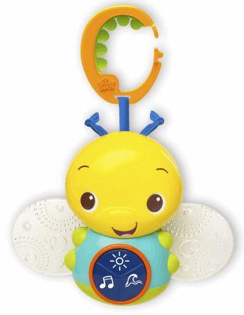 Bright Starts Hrající a svítící včelka Beaming Buggie