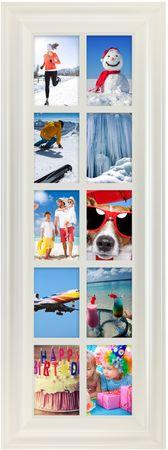 TimeLife 10 ablakos képkeret, 10x15 cm