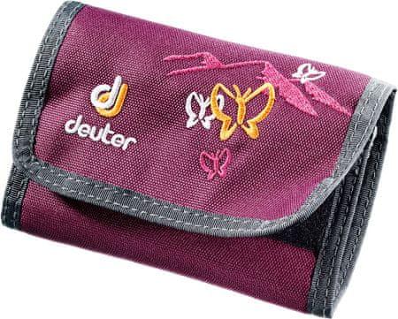Deuter denarnica Wallet, vijolična