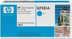 HP toner azurový (Q7581A)