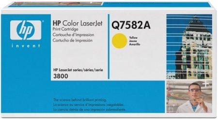 HP toner Color LaserJet Q7582A, yellow