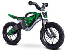 Caretero Rowerek biegowy ENDURO BLACK/GREEN
