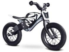 Caretero Rowerek biegowy ENDURO BLACK/WHITE