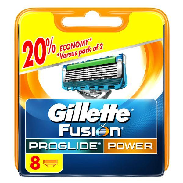 Gillette Fusion ProGlide Power - náhradní hlavice 8 ks