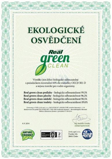 Real Green Clean Nádobí 4x500 g