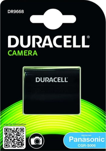 Duracell DR9668 pro Panasonic CGR-S006
