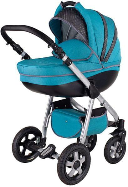 Sun Baby Kombinovaný kočárek 2v1 Deimos, Blue