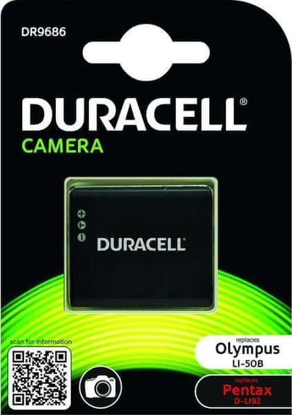 Duracell DR9686 pro Olympus Li-50B