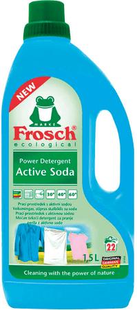Frosch Eko pralni gel z aktivno sodo bikarbono, 1,5 l