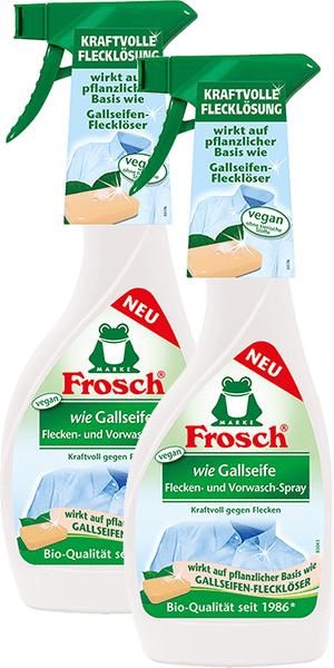 """Frosch Eko sprej na skvrny ala """"žlučové mýdlo"""" 2x500 ml"""