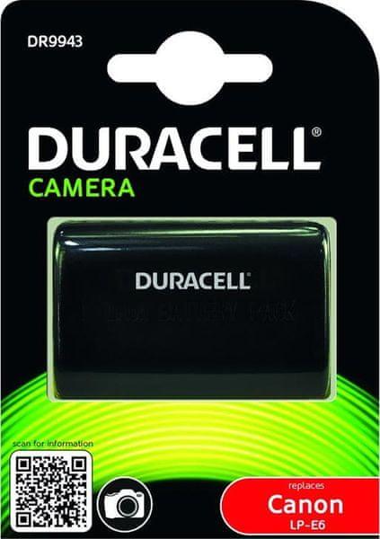 Duracell DR9943 pro Canon LP-E6