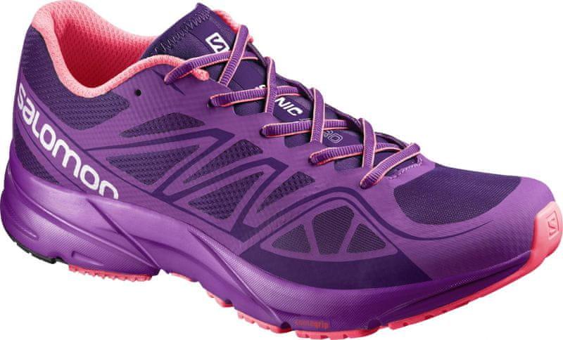 Salomon Sonic Aero W Cosmic Purple/Azalee Pink/Madder Pink 38.0