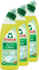 Frosch Eko WC gel citron 3x750 ml