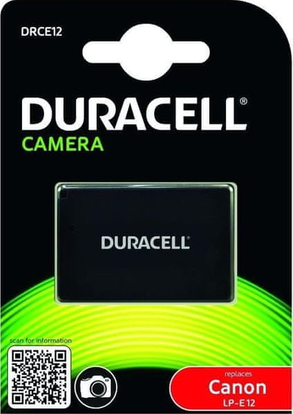 Duracell DRCE12 pro Canon LP-E12