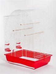 Akinu Klatka dla ptaków ELIZABETH biała 54x39x71cm
