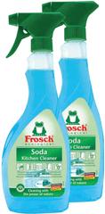 Frosch Eko Sprej čistič na kuchyně se sodou 2x500 ml
