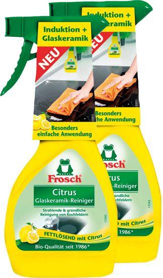Frosch Eko Čistič na varné desky 2x300 ml