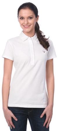 Gant női galléros póló L fehér