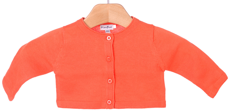 Primigi dívčí svetr 74 oranžová