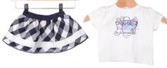 Primigi dívčí set tričko + sukně