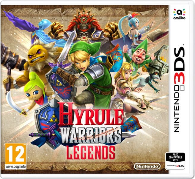 Nintendo 3DS Hyrule Warriors: Legends