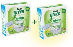 Real Tabletki do zmywarki green clean 1+1 gratis