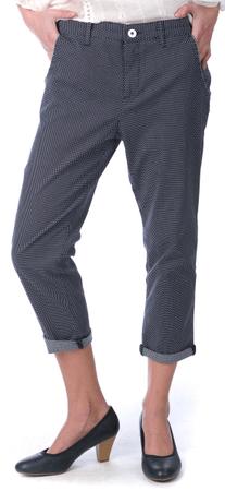 Pepe Jeans dámské 3/4 kalhoty Nina 30 tmavě modrá