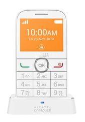 Alcatel telefon komórkowy 20.04G, biały