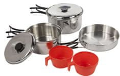 Regatta Compact Steel Cook Set Silver