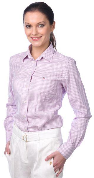 Gant dámská košile 34 fialová