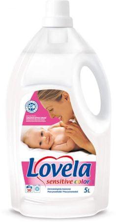 Lovela tekoči detergent Color 5 L, 50 pranj