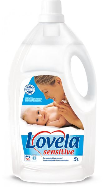 Lovela Sensitive 5 l, 50 praní