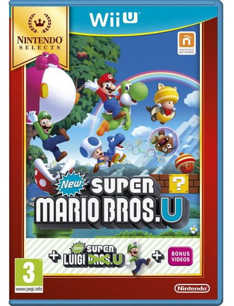Nintendo New Super Mario Bros U+New Super Luigi U Selects / WiiU